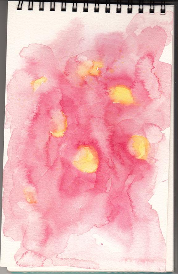 Red Gum underwash (watercolour)