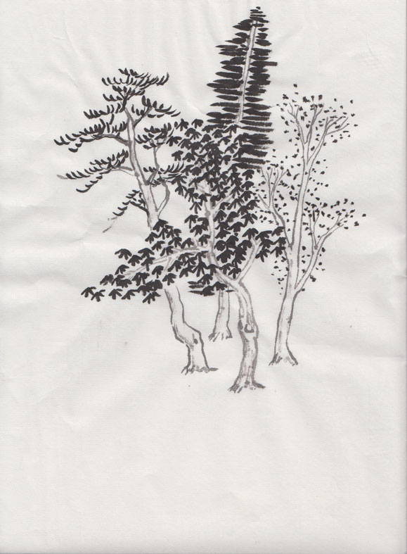 Chinese Landscape (Spontaneous Style)