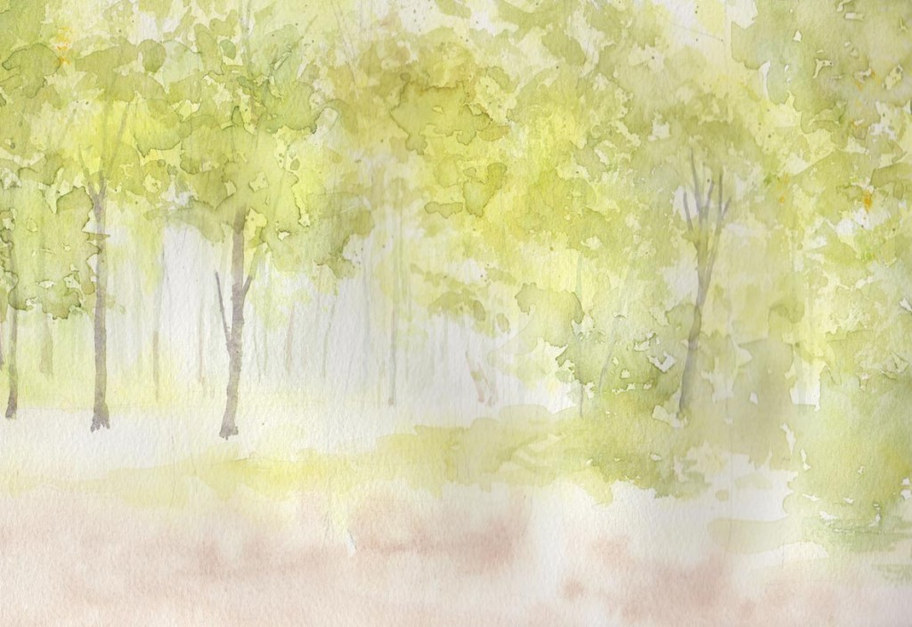 Spring Woodland (Watercolour)