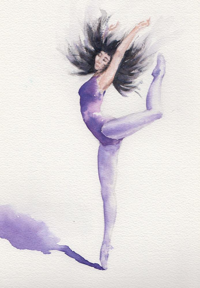 Dancer (Watercolour)