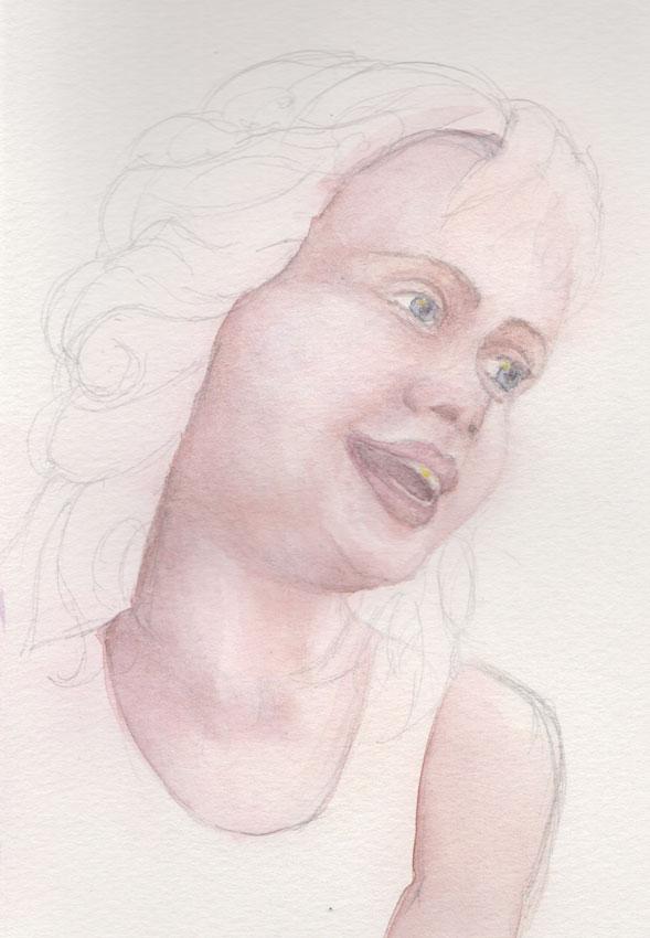 Fairy Face (Watercolour)