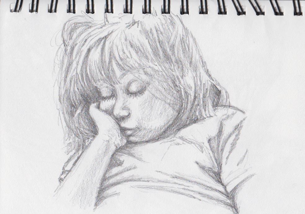 Sweet Innocence (Pencil & Graphite)