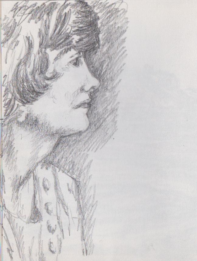Gabrielle Chanel (graphite)