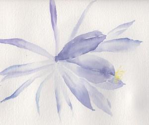 Blue Flower (Watercolour)