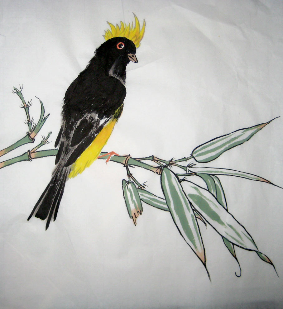 Sultan Tit (Chinese Spontaneous Style)