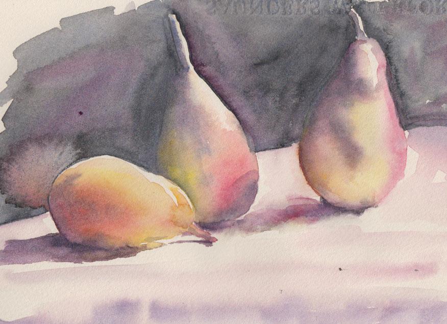 Pears (Watercolour)