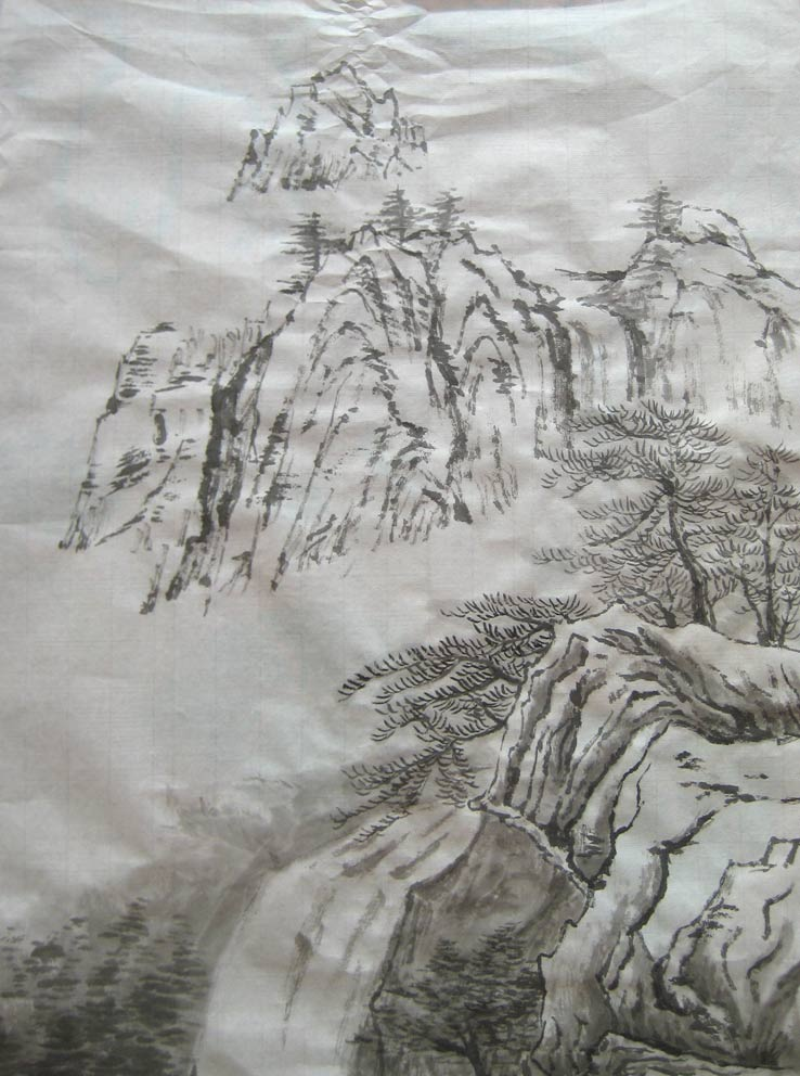 Spring Landscape (Chinese Spontaneous Style)