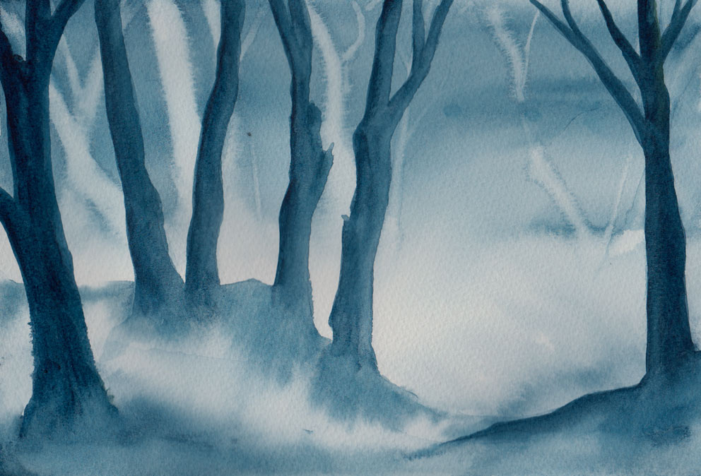 Spooky Hollow (Watercolour)