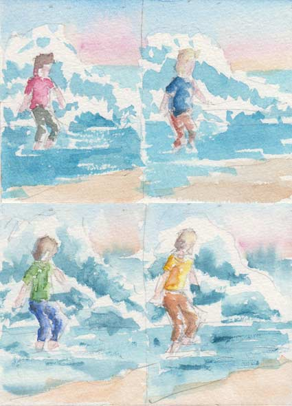 Colour Thumbnails (Watercolour)