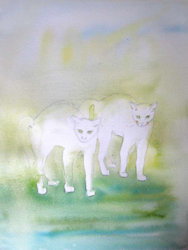 Double Trouble (Watercolour)